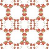 Configuration sans joint florale de vecteur Images libres de droits