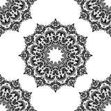 Configuration sans joint florale de vecteur Abrégé sur l'Orient illustration stock