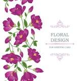 Configuration sans joint florale Fond de bouquet de fleur Seaml floral Photographie stock libre de droits