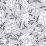 Configuration sans joint florale Fond de jardin de Flourish avec des fleurs Photo stock