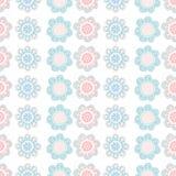 Configuration sans joint florale Illustration de vecteur Images stock