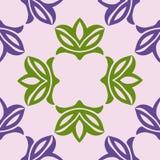 Configuration sans joint florale Illustration de vecteur illustration de vecteur