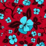 Configuration sans joint florale lumineuse illustration stock