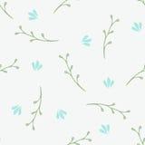 Configuration sans joint florale simple Images stock
