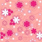 Configuration sans joint florale. texture Photo libre de droits
