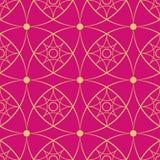 Configuration sans joint géométrique Photographie stock libre de droits