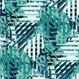 Configuration sans joint géométrique abstraite illustration de vecteur