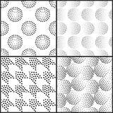 Configuration sans joint géométrique abstraite de vecteur Répétition de la gradation Photos stock