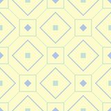 configuration sans joint géométrique Fond beige avec les éléments bleus et verts Photos stock