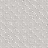 Configuration sans joint métallique de cercle Images stock