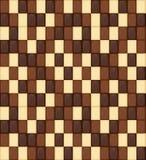 Configuration sans joint Morceaux réalistes de barre de chocolat Lait, obscurité, Wh Photographie stock libre de droits