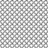 Configuration sans joint nette en métal. Images stock