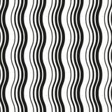 Configuration sans joint noire et blanche onde Image stock