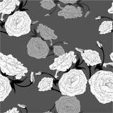 Configuration sans joint Retrait de vecteur Eustoma - fleurs et bourgeons Composition décorative - un bouquet des fleurs wallpape Images libres de droits