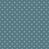 Configuration sans joint romantique avec des coeurs Belle illustration de vecteur Fond La texture sans fin peut être employée pou Image libre de droits