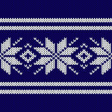 Configuration sans joint tricotée Image libre de droits