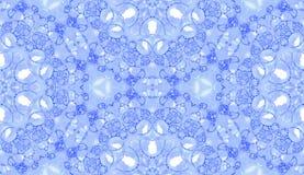 Configuration sans joint violette Savon sensible étonnant images stock
