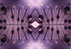Configuration sonore d'affaiblisseurs Images libres de droits