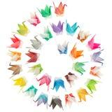 Configuration spiralée d'oiseaux Photographie stock libre de droits