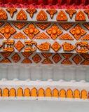 Configuration thaïe traditionnelle d'art de type Photos stock