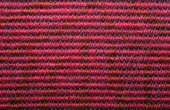 Configuration tissée approximative Images stock