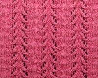 Configuration tricotée Image libre de droits