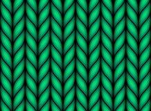 Configuration tricotée sans joint Images libres de droits
