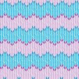Configuration tricot?e Simples réalistes tricotent le vecteur de texture illustration libre de droits