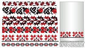 Configuration ukrainienne d'embroder Photos stock