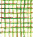 Configuration verte et rouge de plaid Photographie stock libre de droits