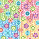 Configurations avec des fleurs illustration libre de droits