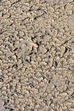 Configurations croustillantes étranges en sable sur la plage en Espagne images libres de droits