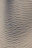 Configurations d'ondulation de sable Images libres de droits