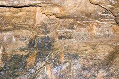Configurations dans la roche 1 photos stock