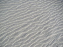 Configurations dans le sable Image libre de droits