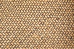Configurations de bambou tissé photos stock