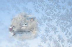 Configurations de l'hiver images stock