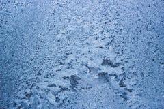 Configurations de l'hiver sur l'hublot images libres de droits
