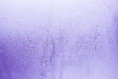 Configurations de l'hiver sur l'hublot photos stock