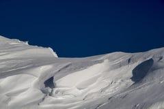 Configurations de neige photographie stock