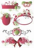 Configurations de Noël Photographie stock