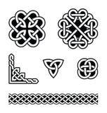 Configurations de noeuds celtiques -   Photographie stock libre de droits