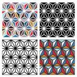 Configurations de polygone illustration stock