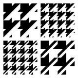 Configurations de tissu de vecteur Image stock