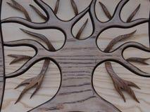 Configurations en bois photos stock