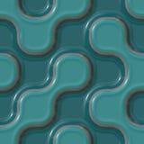 Configurations en céramique colorées Image stock