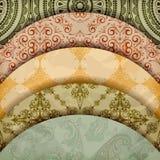 Configurations florales Photographie stock libre de droits