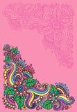 Configurations florales lumineuses illustration de vecteur