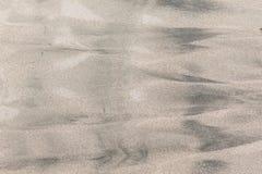 Configurations humides de sable Images stock