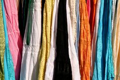 Configurations indiennes de robe image stock
